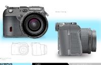 Olympus Camera rendering