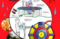 Trampoline Water Toy